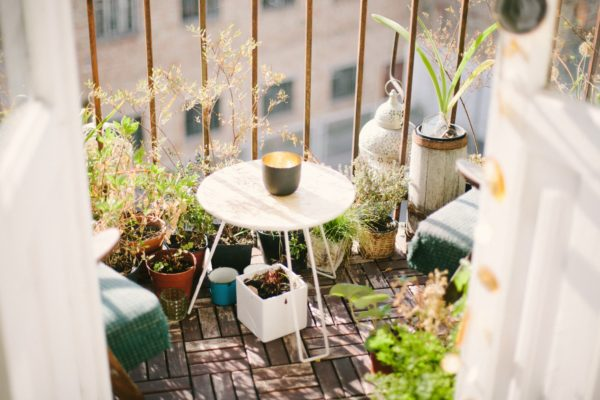 Tips para decorar tu terraza
