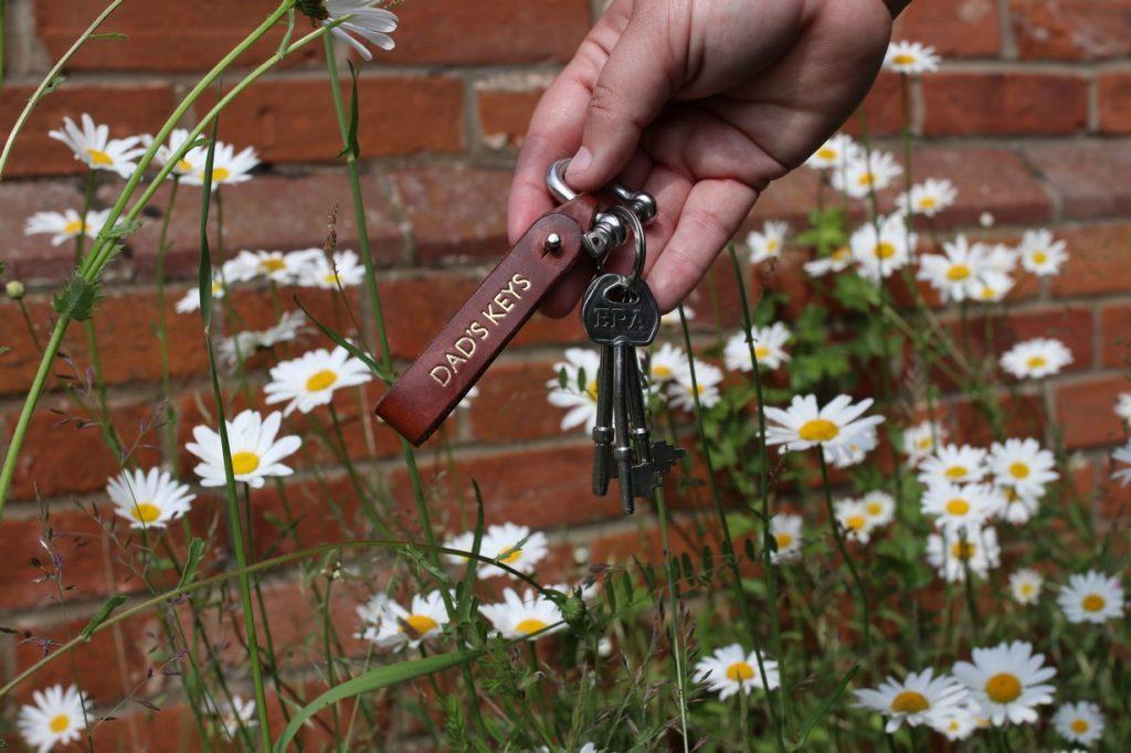 Deja tus llaves a salvo en un lugar seguro