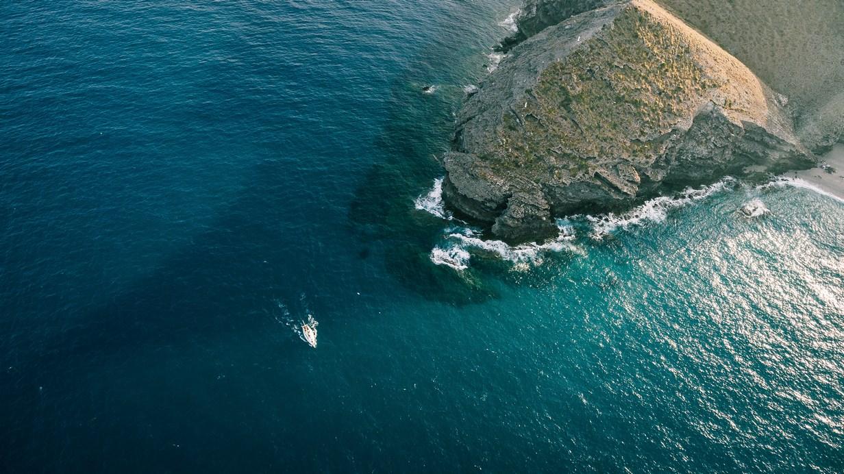 Una de las 5 mejores playas de España es playa Las Marinicas en Carboneras. Almería