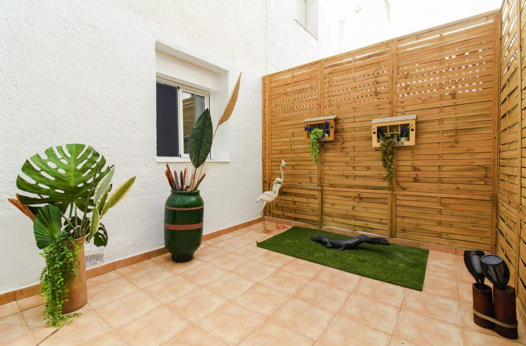 Los patios internos, serán un oasis dentro de la ciudad