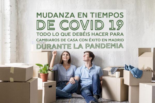 Mudanza en tiempos de COVID 19