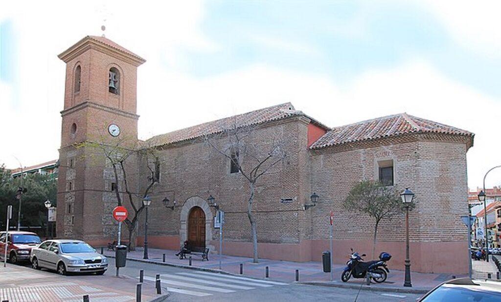 Parroquia mudéjar de Santa María la Blanca Canillejas (Foto Wikiwand)
