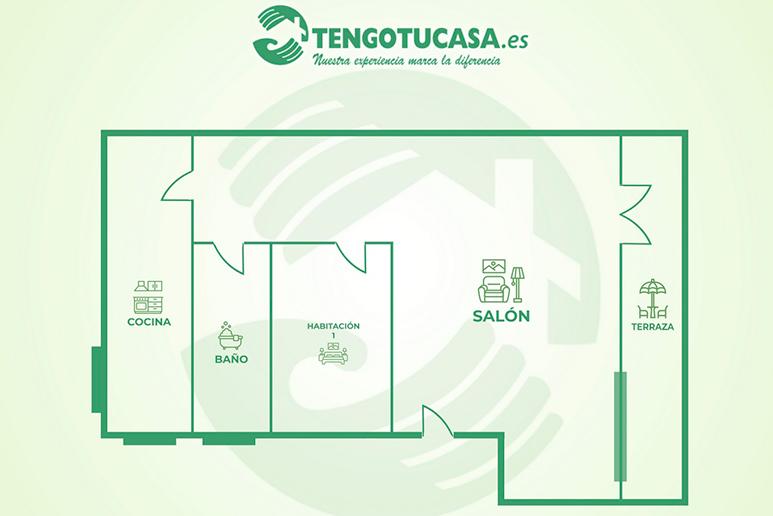 plano para comprar piso en la Elipa